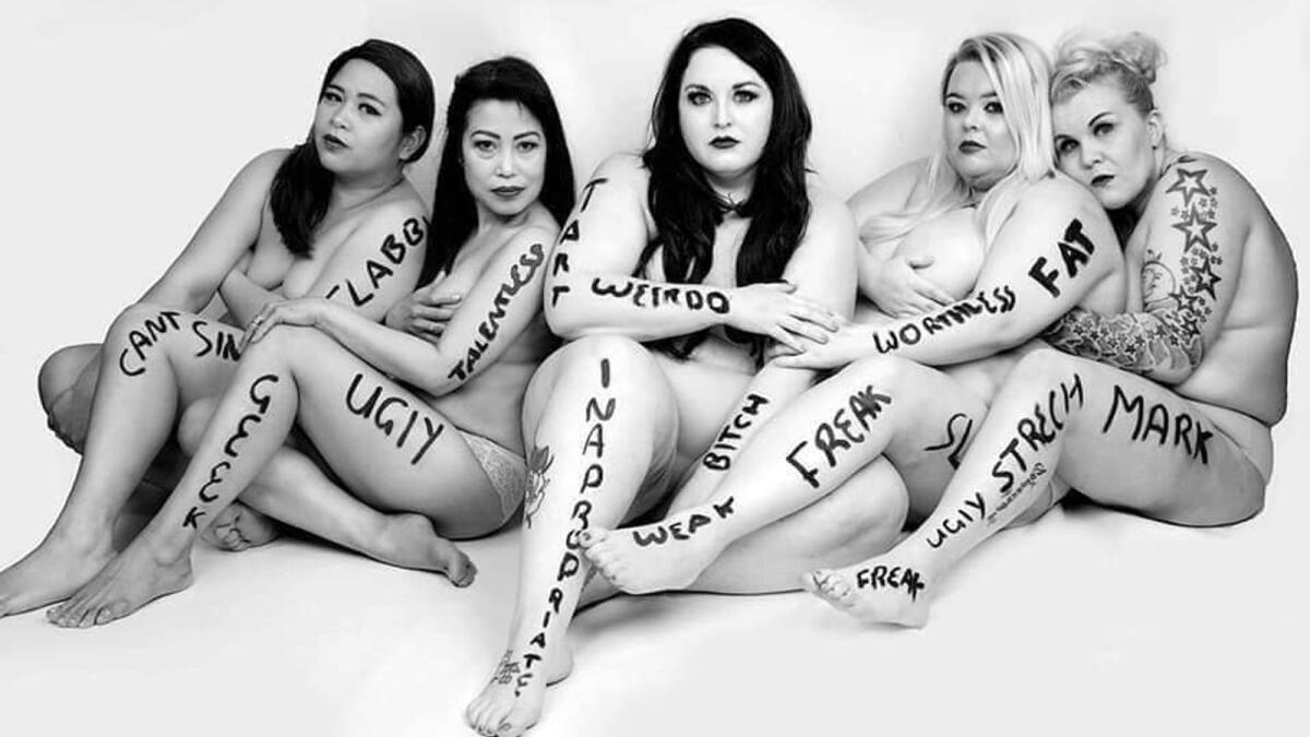 'It doesn't matter what size you are, you are beautiful' 5
