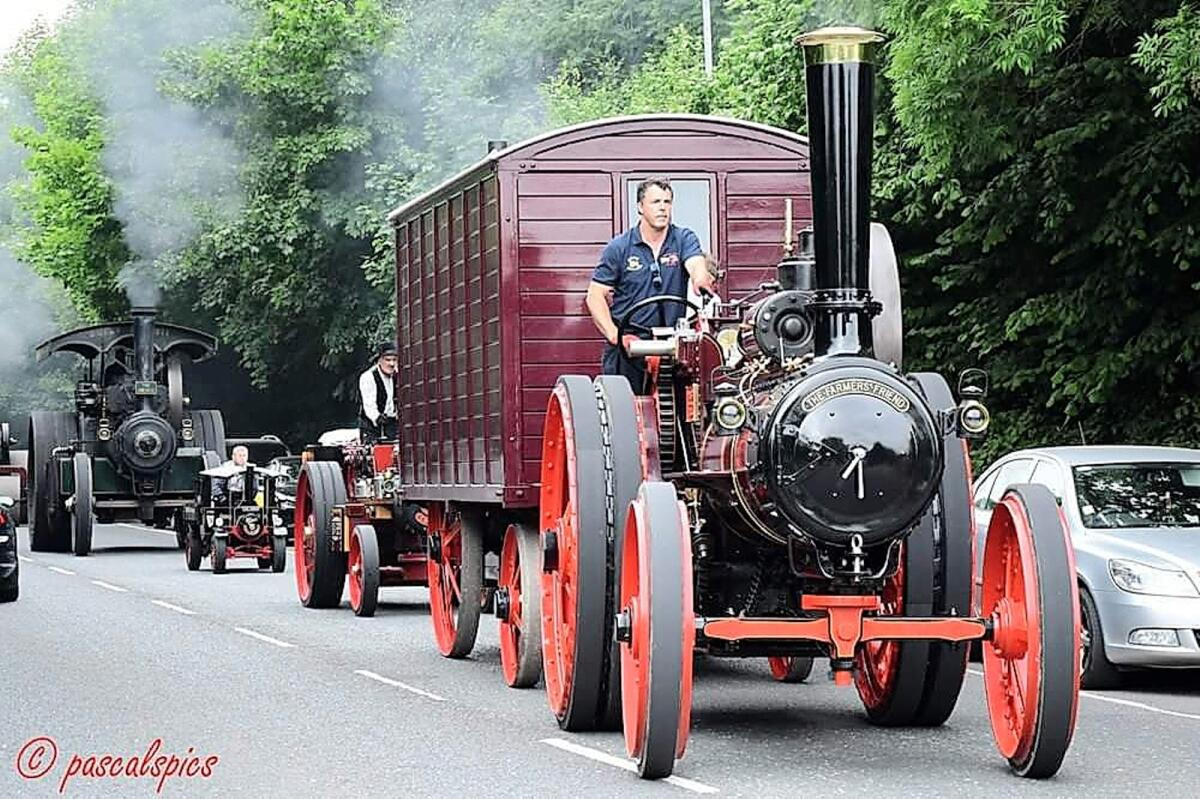 Steam engine run added for this year's festival at Moynalty